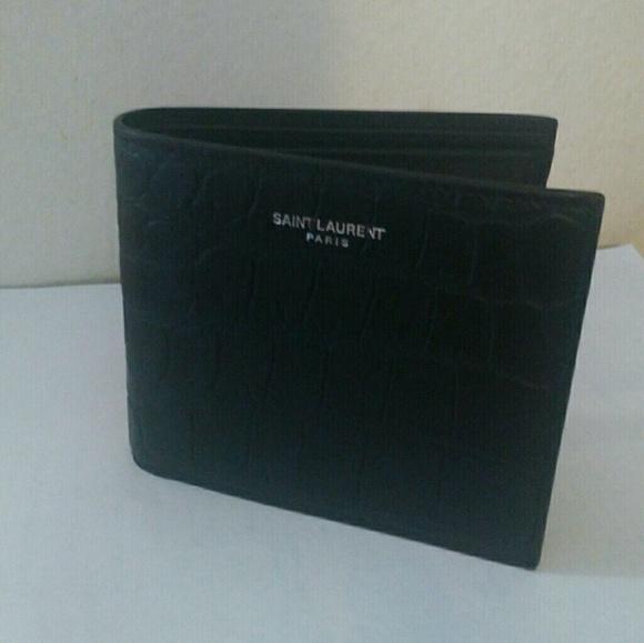 62e694ec Saint Laurent Paris men's wallet